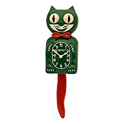 Kit Cat Klock Hunter Green and Red Limited Edition (15.5″ high) Special Addition
