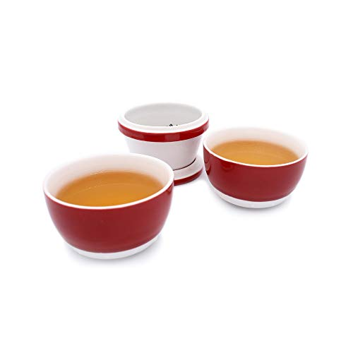 (Teacup tea set China drum teacup tea cups go out tea cup portable tea cup,mini portable teacup combination,that is a good choice for travel, business trips and office.)