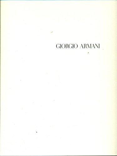 Collezione Giorgio Armani Primavera Estate 1990, Uomo
