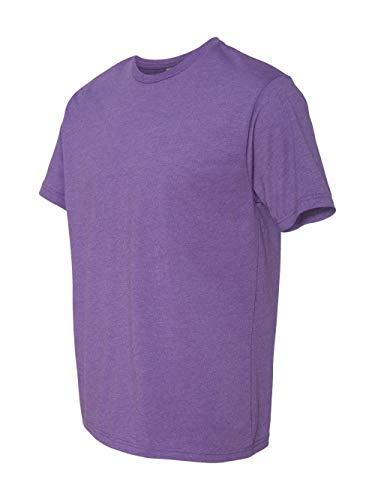 (Next Level Apparel N6210 Mens Premium CVC Crew - Purple Rush,)