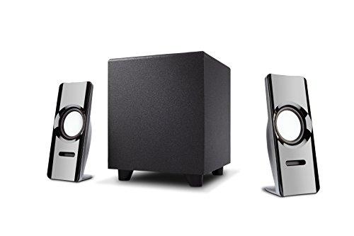 Cyber Acoustics 2.1 desktop multimedia computer speakers, th