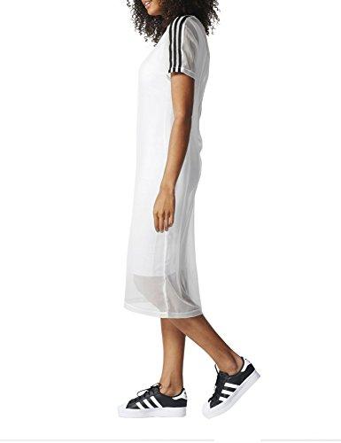 Layer 3s Bianco adidas Donna Abito 6zwqxR