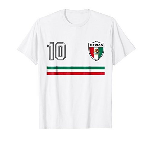 2018 Mexico Classic Soccer Team World Jersey Fan T (Classic Soccer Shirts)