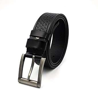 Black Fur Belt For Men