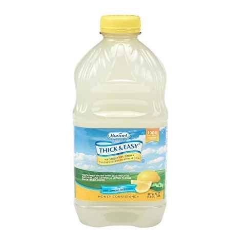 WATER, LEMON THICKENED HONEY CONSISTENCY PLASTIC JUG HYDROLYTE SHELF (Honey Water)