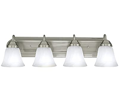 Four Globe Bathroom Vanity Light Bar Bath Fixture