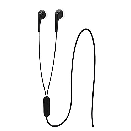 Motorola M13MOEARBUD2N Audífonos 3.5 con Micrófono Earbuds 2, Color Negro