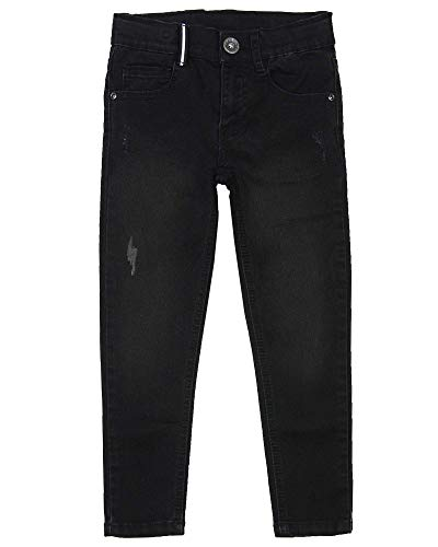 3 Pommes Boy's Denim Pants with Distressed Details, Sizes 4-12 - 6