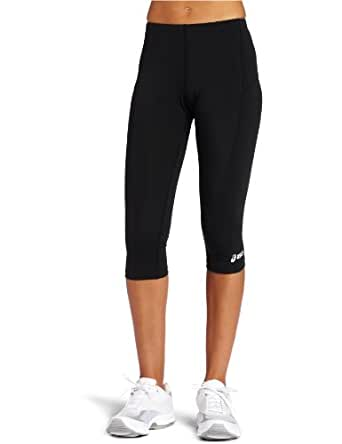 ASICS Women's 3/4 Capri Tight, Black, XX-Small