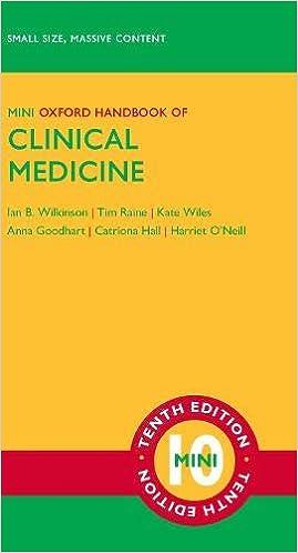 Kết quả hình ảnh cho Oxford Handbook of Clinical Medicine 10e