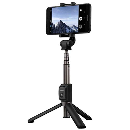 Original 2 in 1 Mini Extendable Folding Tripod Wired Selfie Stick For Smartphone -Mobile Phones & Accessories Mounts & Holders - 1 X HUAWEI Honor Selfie Stick]()