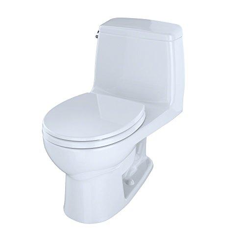 One Piece Toilet, White