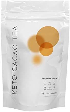 Keto Cacao Tea 28 Day Supply - Weight Loss Tea - Rich In Antioxidants - Natural Energy Boost - Enhance Focus & Mental Alertness - Peruvian Blend Flavor