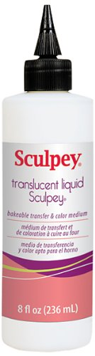 Polyform Sculpey Transparent Liquid, 8-Ounce