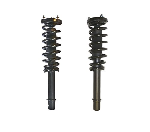 DTA 50092 Front Complete Strut Assemblies With Springs and Mounts Ready to Install OE Replacement 2-pc Pair Fits 2003-2007 Honda Accord, 4cyl Only