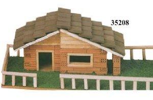 Kit construcción ladrillos chalet con valla. Keranova 35208 ...