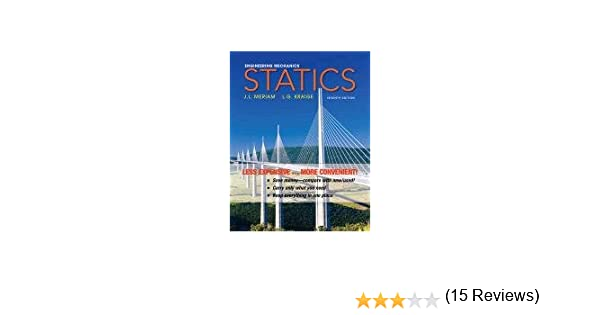 Engineering mechanics statics james l meriam l g kraige engineering mechanics statics james l meriam l g kraige 9780470917879 amazon books fandeluxe Gallery