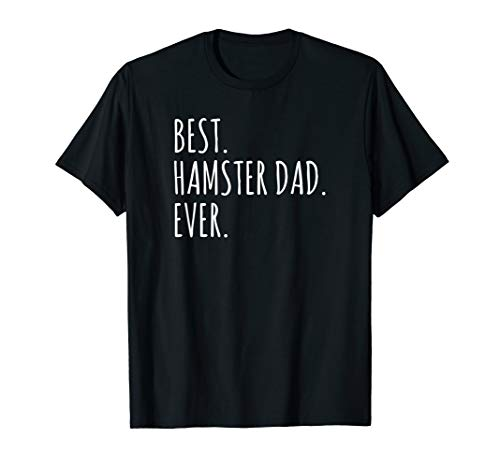 Funny Adults Best Hamster Dad Ever Tshirt -