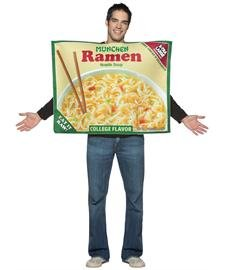 [Munchen Ramen Noodle Adult Costume] (Ramen Noodle Costumes)