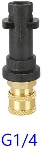 Pulitore ad alta pressione in schiuma per pulizia vaso Karcher K K2 K6 1//4 K4 adattatore rapido K7 K3 NHOUYAO K5