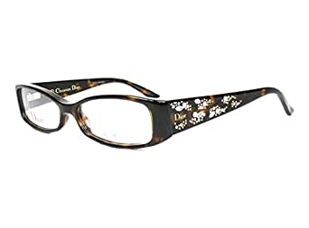 DIOR Eyeglasses 3253 0086 Havana 52MM at Amazon Women's