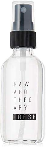 Raw Apothecary Fresh (60ml), tónico facial de agua de rosas y geranio para hidratar, refrescar, desinflamar y