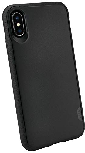 Silk iPhone Xs/X Slim Case - Kung Fu Grip [Lightweight + Protective] Thin Cover for Apple iPhone 10 - Black Tie Affair