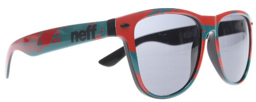 Neff Daily Men's Authentic Sunglasses - Teal/Red / One Size Fits All