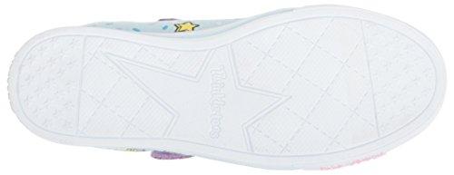 Skechers Kids Girls' Sparkle LITE-Unicorn Craze Sneaker, Light Blue/Multi, 9 Medium US Toddler by Skechers (Image #3)