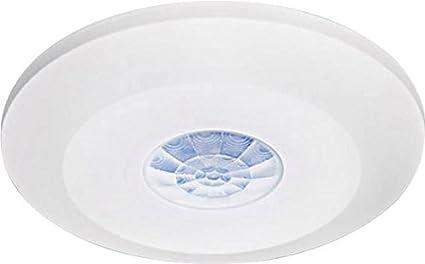 GEV Rondo Flat – Detector de Movimiento 360 ° LBD para 1 Pieza, Blanco,