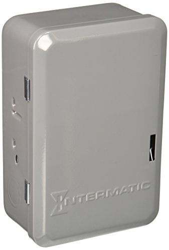 Intermatic C8815 Time Switch, 10-Minute, Gray ()