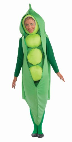 Food And Drink Halloween Costumes (Forum Women's Pea Pod Costume,Green,Standard)