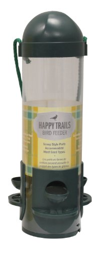 Heath Outdoor Products 21413 Happy Trails Bird Feeder, Green