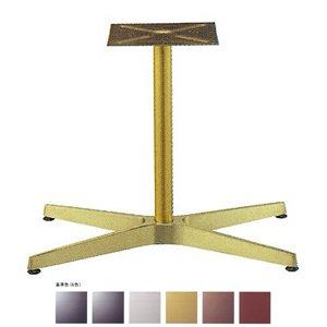 e-kanamono テーブル脚 AB3800 ベース683x425 パイプ42.7φ 受座240x240 アルミゴールド/塗装パイプ AJ付 高さ700mmまで シルバーメタリック B012CF4GH8 シルバーメタリック シルバーメタリック