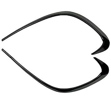 Cubierta de salida de aire para parachoques delantero de ABS 2 modelos