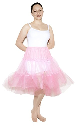 Pink Crinoline Slip size Adult Medium / Large by Hey Viv !