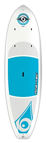 BIC Sport ACE-TEC Cross Stand-Up Paddleboard, Platinum Blue, 10-Feet