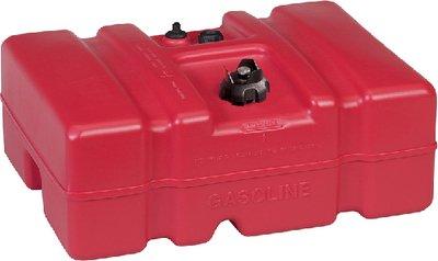 Moeller - Above Deck Fuel Tank, 12 Gallon Low Profile w/EPA Cap - 630013LP