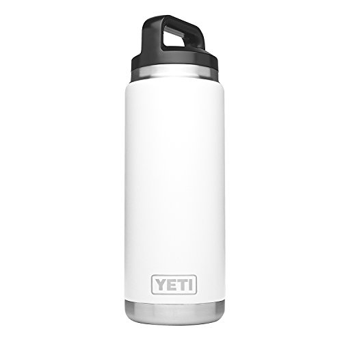 - YETI Rambler 26oz Bottle, White