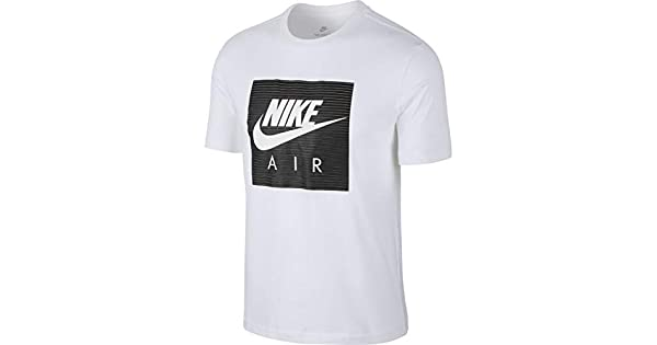 Nike M NSW Tee Cltr Air 1 White Men's T Shirt Tanks, Men