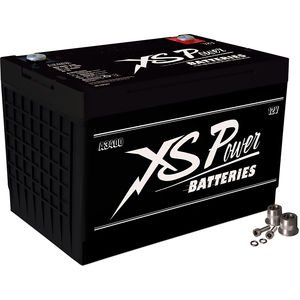 XS Power A3400 12V BCI Group 34 AGM Starting Battery (Max Amps 3,300A CA: 1,000A)