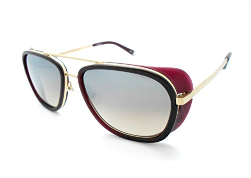23b0f310c7 Matsuda M3023 Iron Man Matte Bordeaux Aviator Sunglasses - Buy Online in UAE.