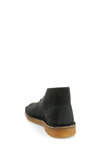 Clarks Desert Boot Dark Grey Suede Grigio