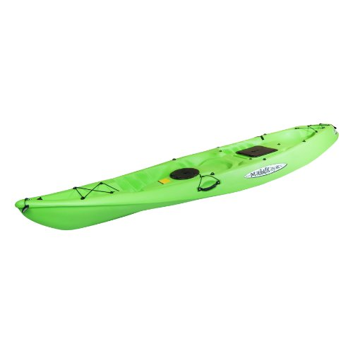 Tandem Recreation Package Sit on Top Kayak, Lime (Tandem Kayak Package)