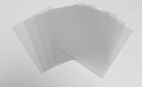 Rustic Decor 10 Sheets 8x10 .040 PETG, Clear Styrene/Plexiglass