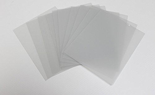 Rustic Decor 10 Sheets 4x6 .040 PETG, Clear Styrene/Plexiglass