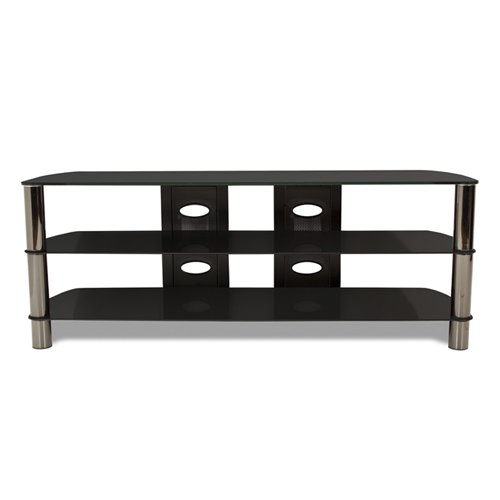TechCraft  BEL57B 57-Inch Wide Flat Panel TV Stand - (Tech Craft Metal Tv Stand)