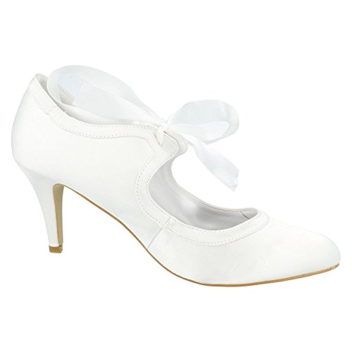 Anne Michelle , Damen Ballerinas Weiß weiß