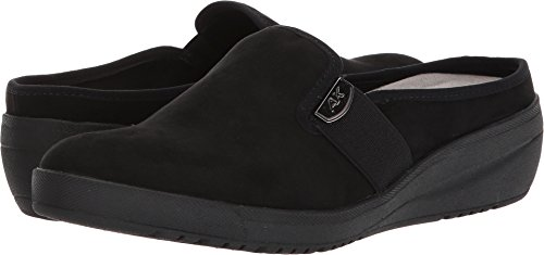 Anne Klein AK Sport Women's Youth Sneaker Mule, Black/Multi Fabric, 5 M (Ak Anne Klein Mules)