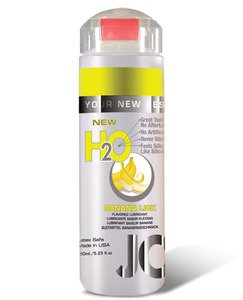 System jo h2o flavored lubricant – 5.25 oz banana lick, Health Care Stuffs